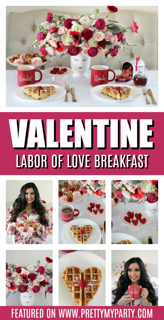 Labor of Love Breakfast on Pretty My Party