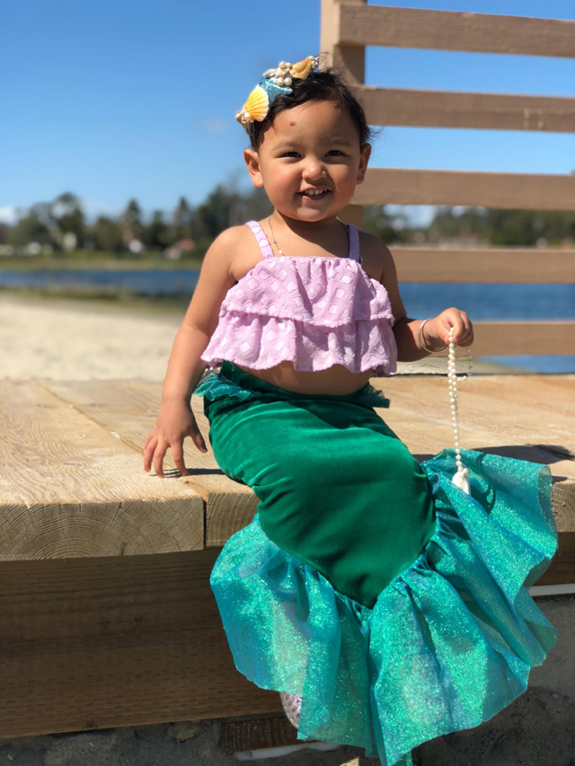 Mermaid Birthday Outfit