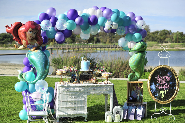 Mermaid Themed 2nd Birthday Party