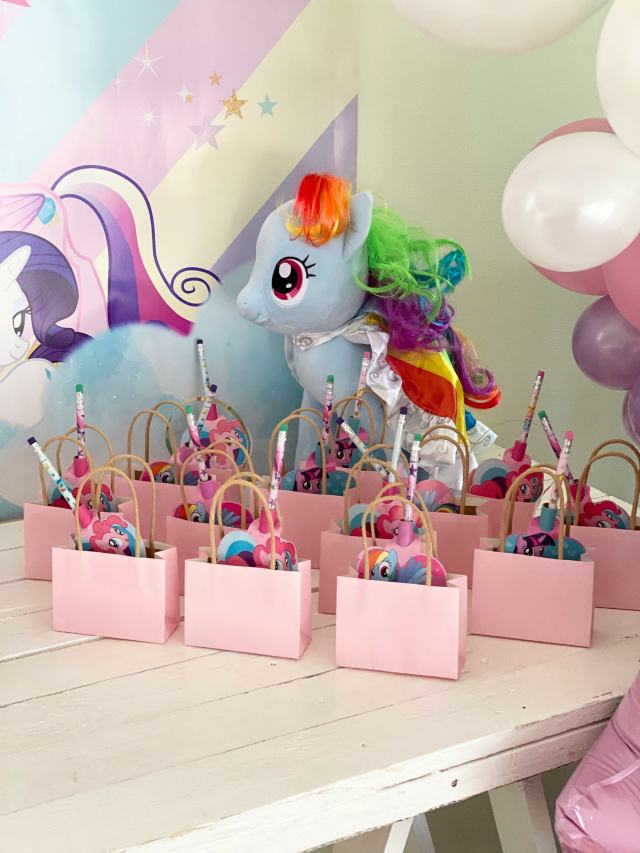 My Little Pony Party Favors