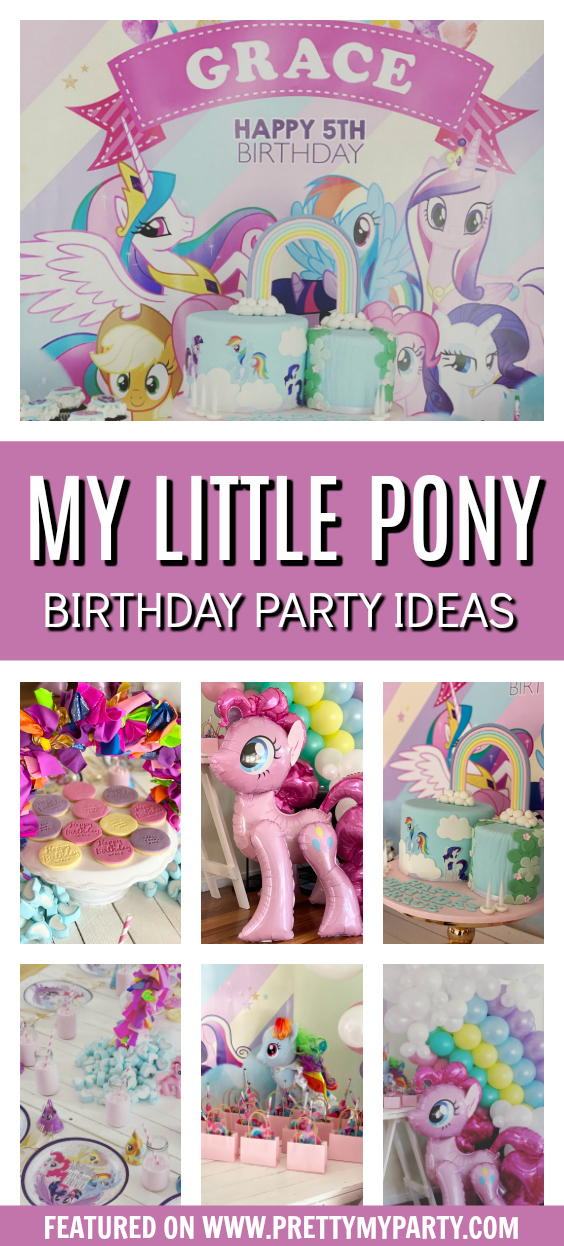 My Little Pony Themed Party on Pretty My Party