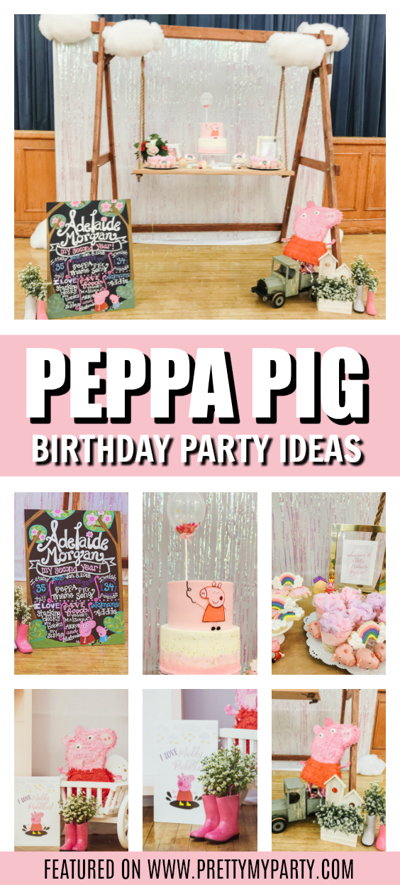 Peppa Pig Themed 2nd Birthday on Pretty My Party