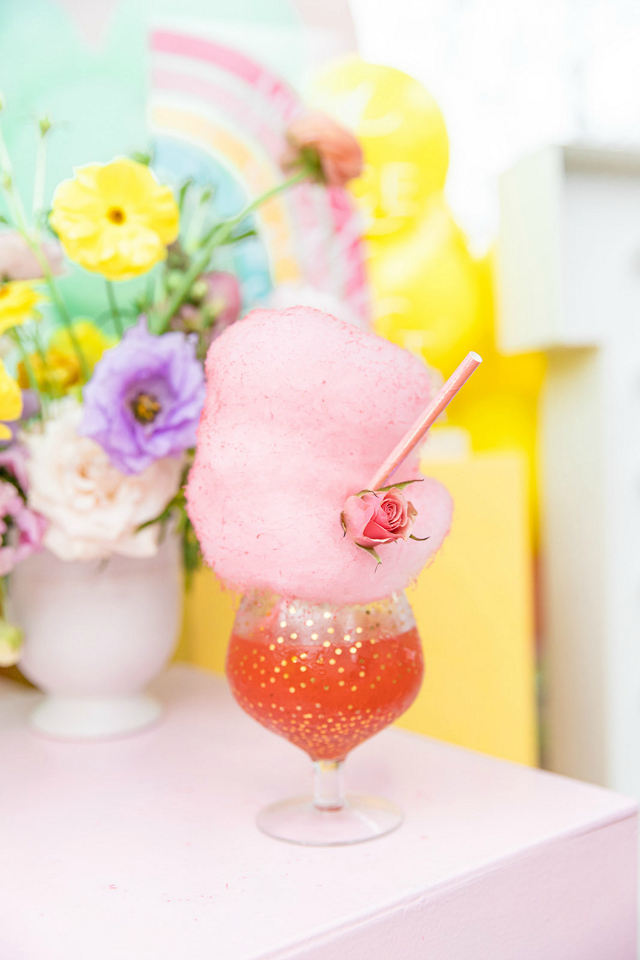 Fun Cotton Candy Drink