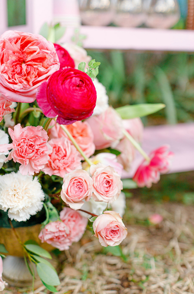 Pink Flower Decor