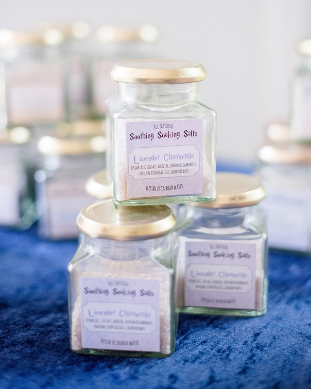 Baby Shower Soaking Salts Favors