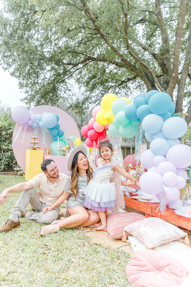 Pastel Rainbow Trolls Party