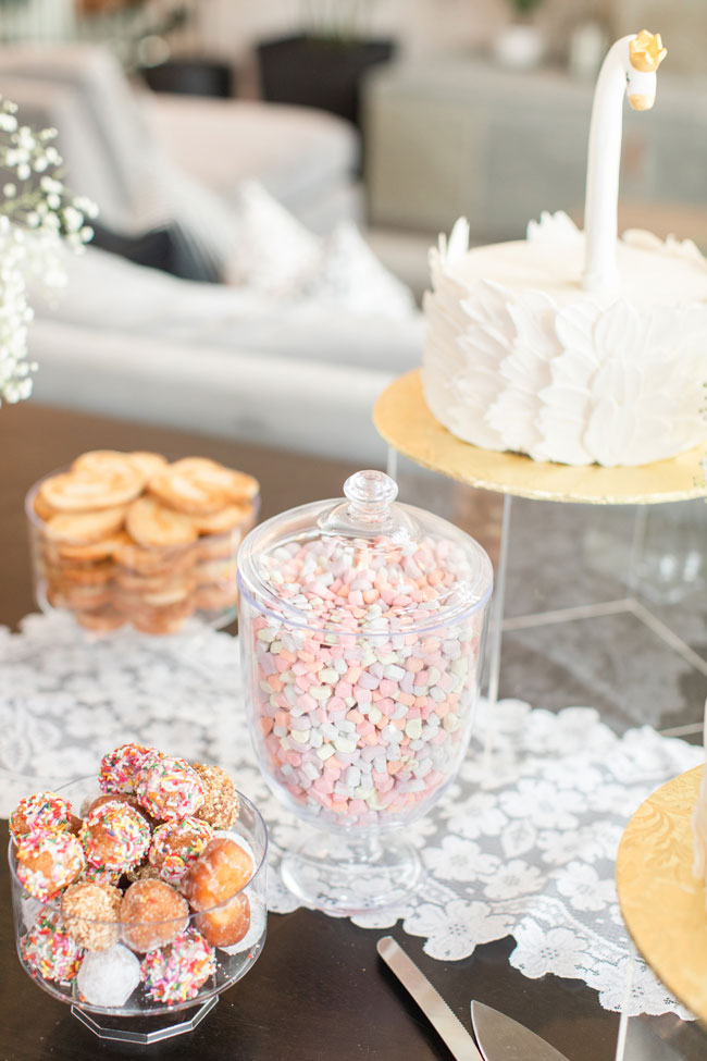 Bubbly Twin Baby Shower Dessert Ideas
