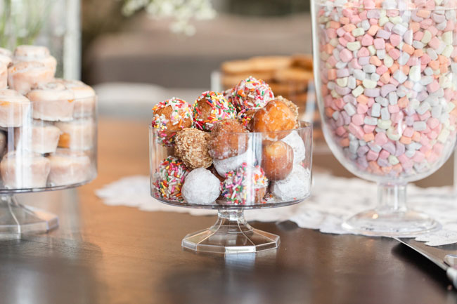 Bubbly Twin Baby Shower Donuts