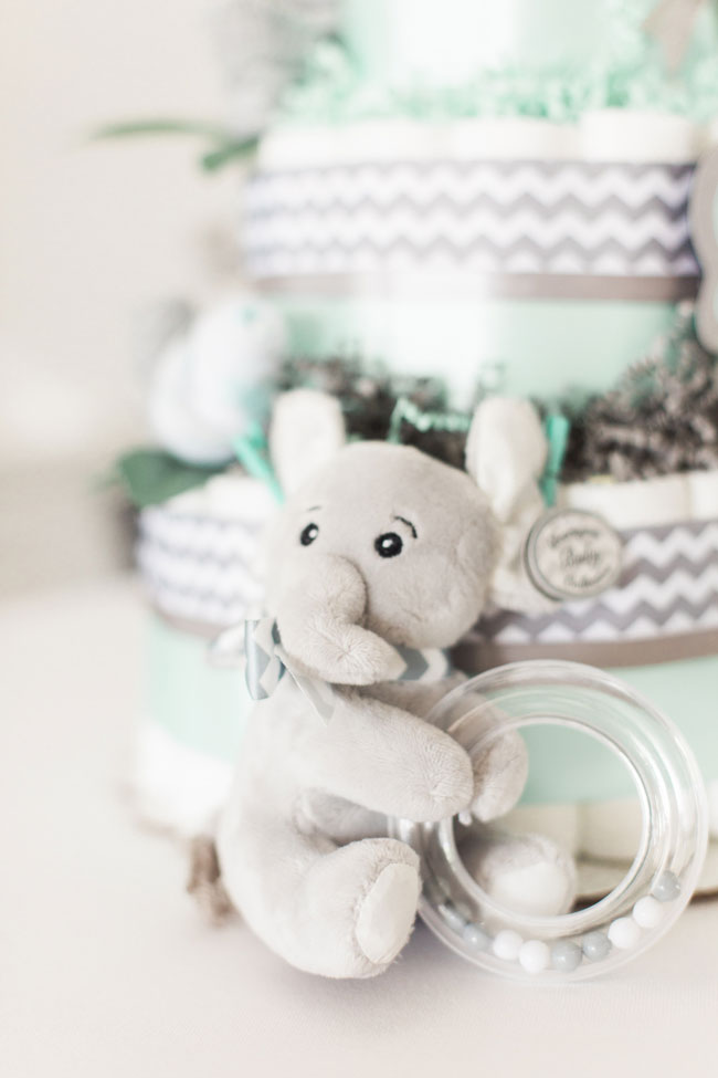 Whimsical Elephant Themed Baby Shower