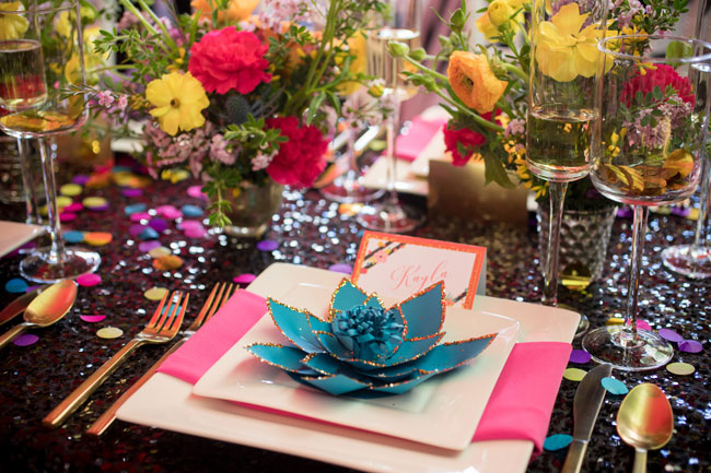 Flirty Thirty Themed Birthday Party Place Setting