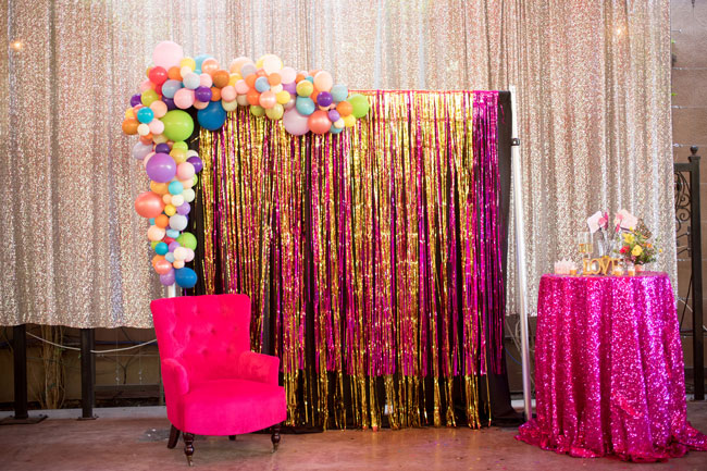 Flirty Thirty Themed Birthday Party Photo Booth