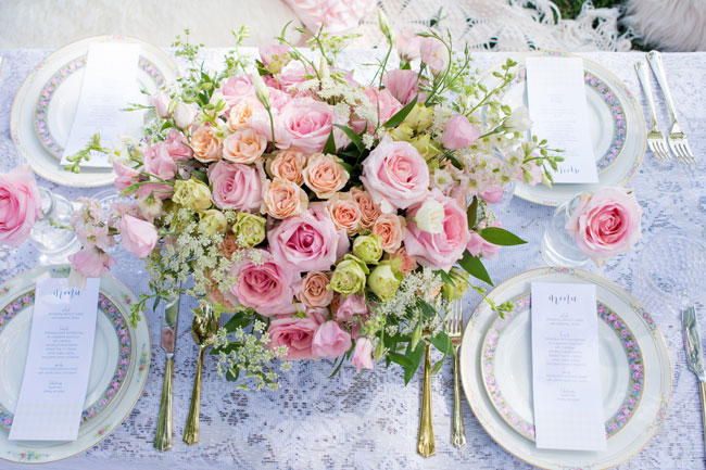 Beautiful Garden Party Tablescape