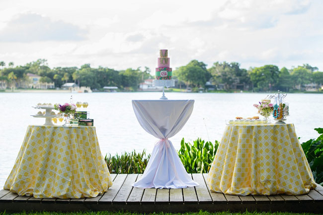 Lilly Pulitzer Inspired Bridesmaid Luncheon Ideas