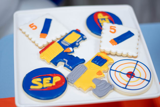 Nerf Party Cookies