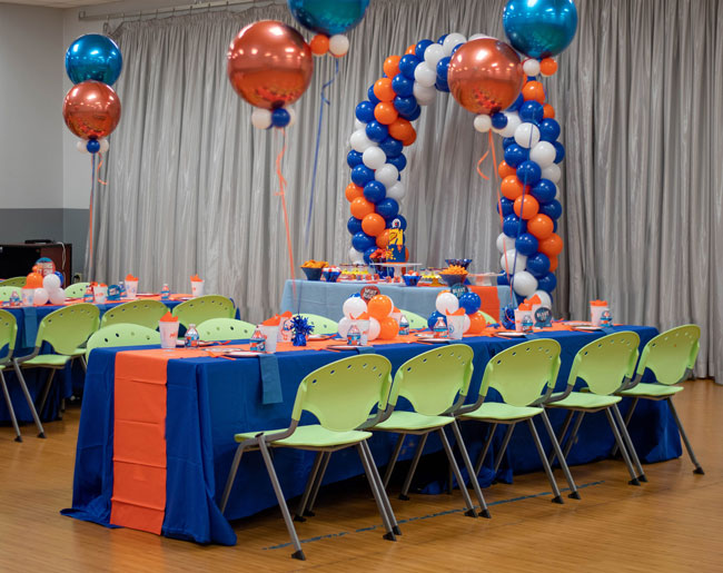Nerf Themed Birthday Party Decorations
