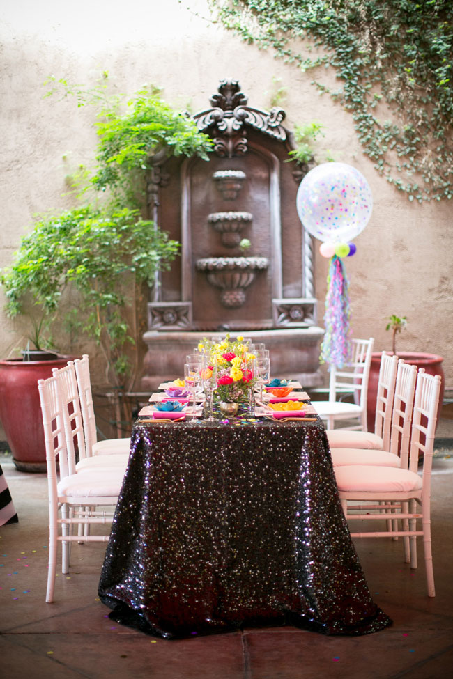 Flirty Thirty Themed Birthday Party Tablescape