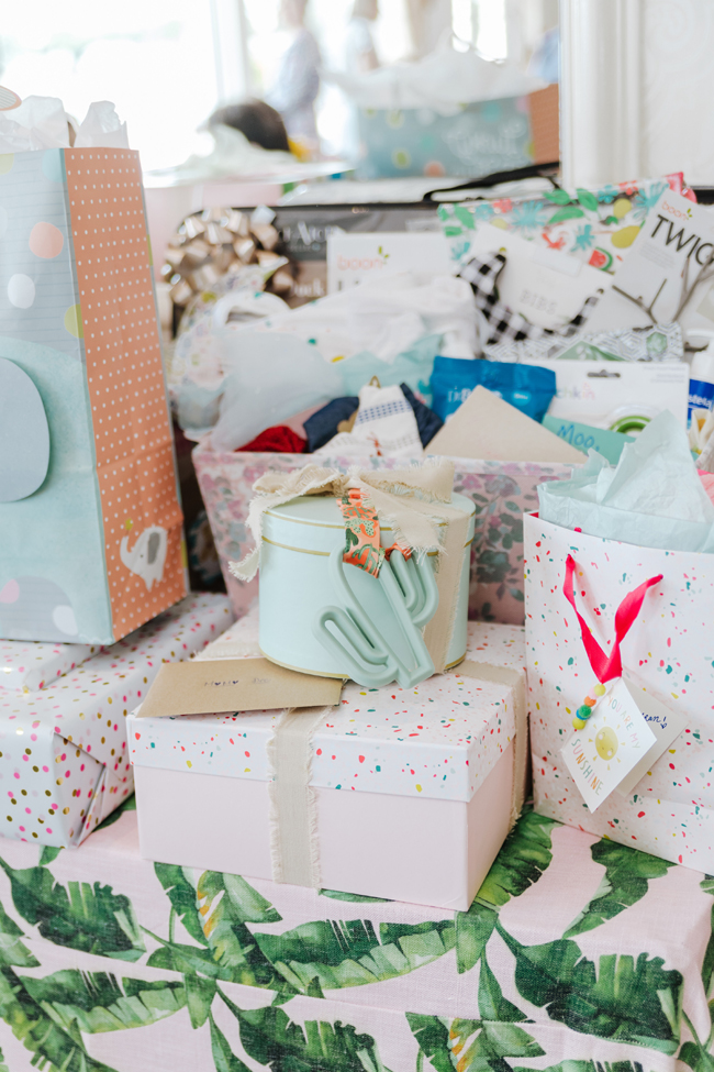 Tropical Aloha Baby Shower Gifts