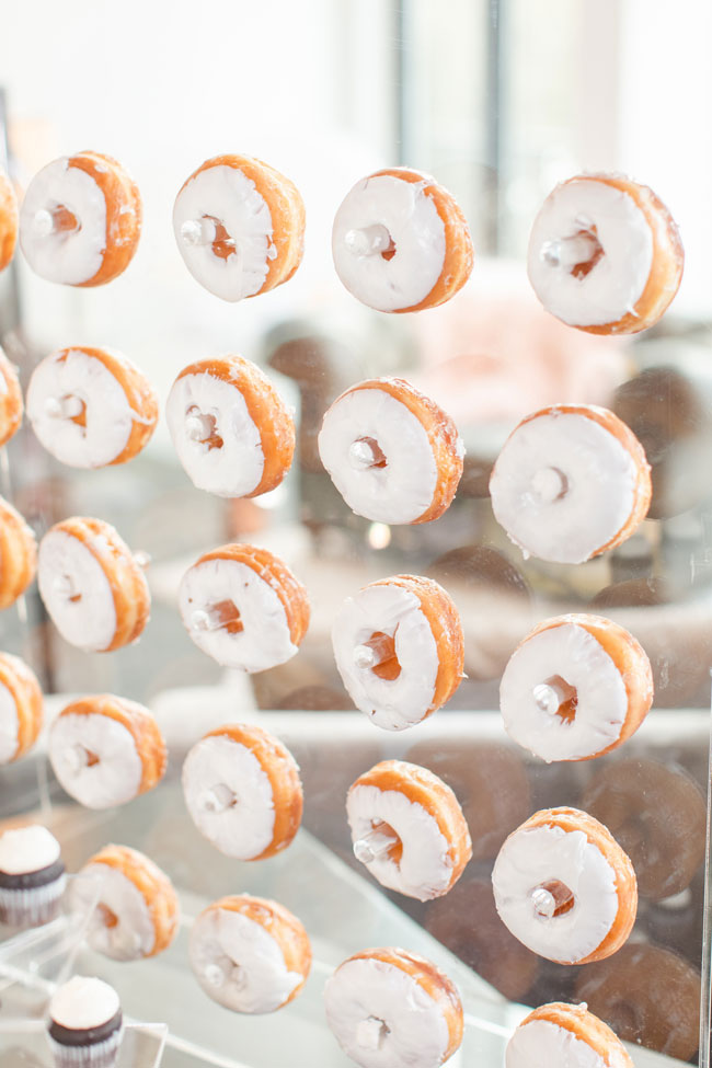 Bubbly Twin Baby Shower Donut Wall