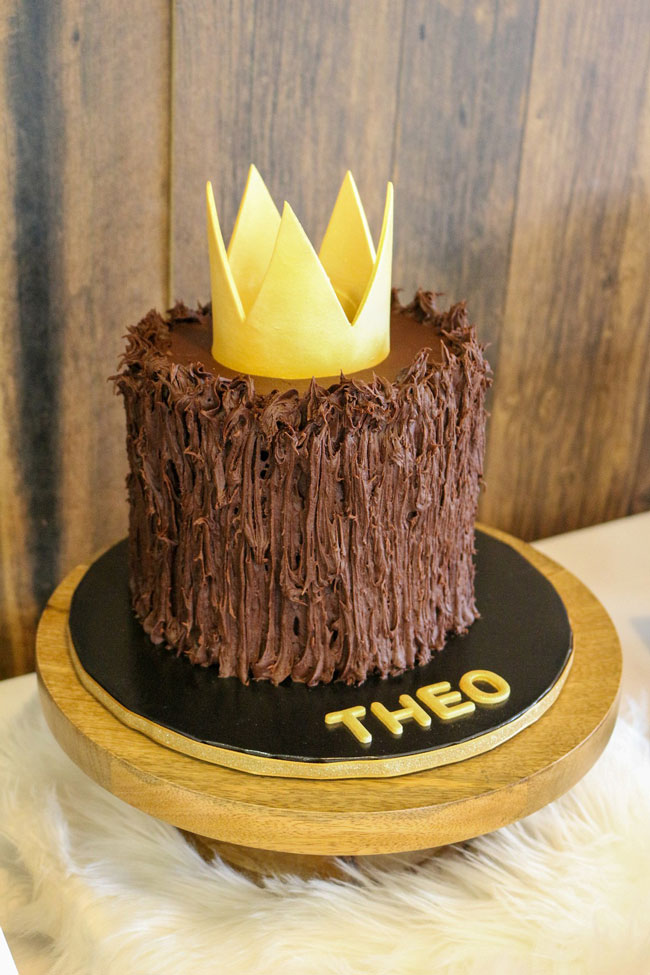 Where The Wild Things Are Birthday Party Cake