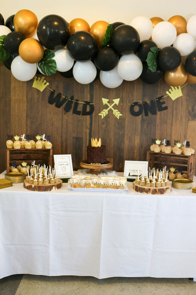 Where The Wild Things Are Dessert Table Idea
