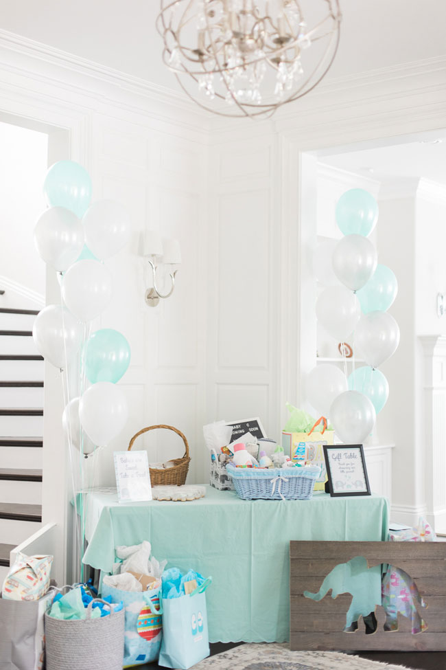 Whimsical Elephant Themed Baby Shower Gifts
