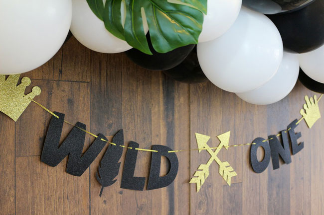 Where The Wild Things Are Birthday Party Banner