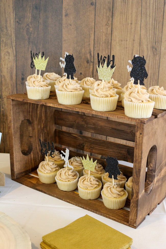 Where The Wild Things Are Birthday Party Cupcake Toppers