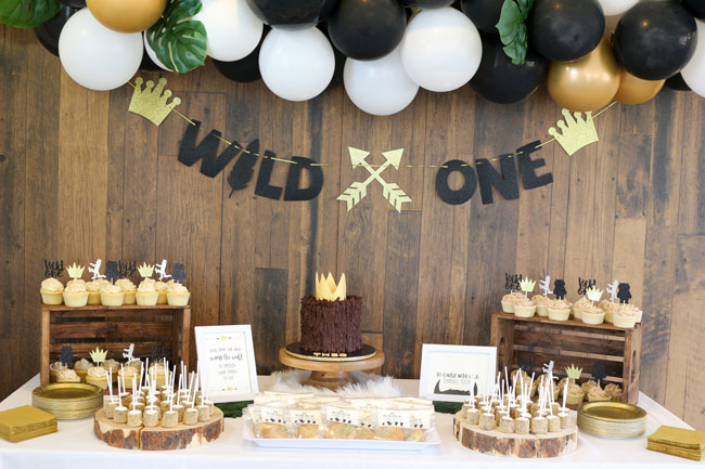 Where The Wild Things Are Birthday Party Dessert Table