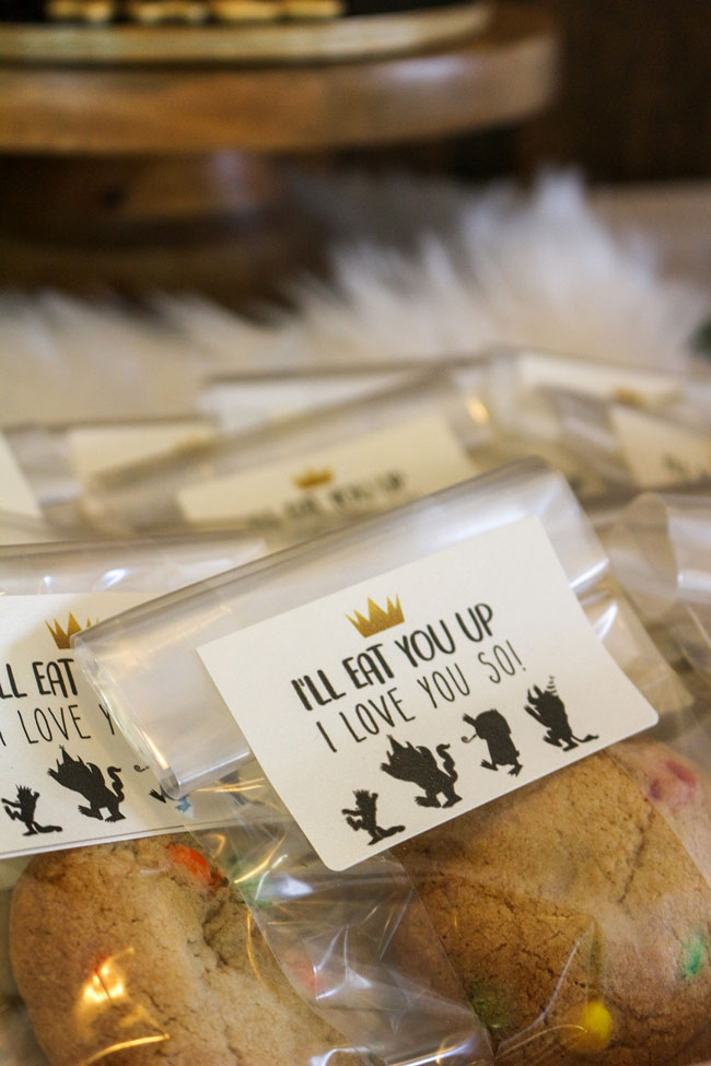 Where The Wild Things Are Birthday Party Favor Tags