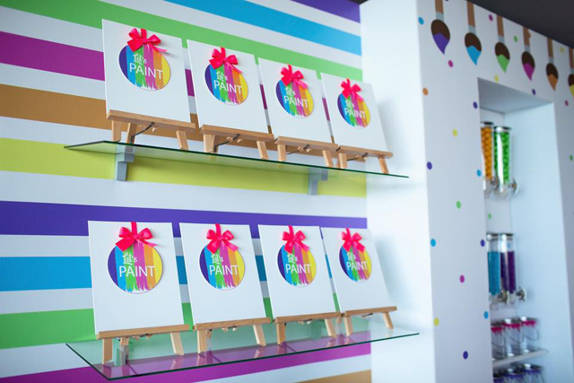 Colorful Art Birthday Party