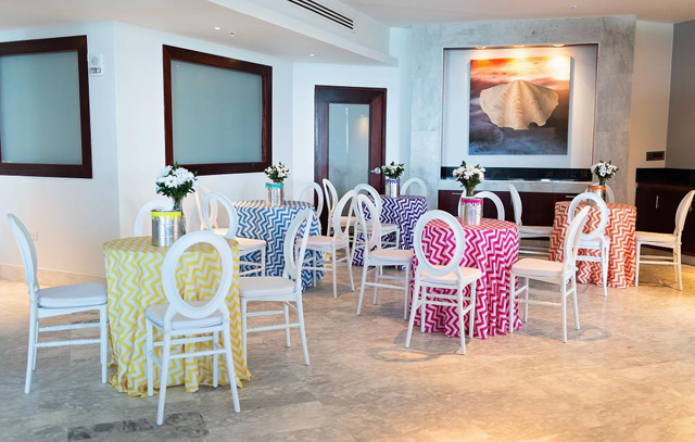 Colorful Art Party Tables