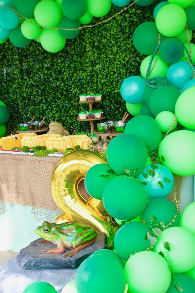 Bug and Reptile Birthday Party