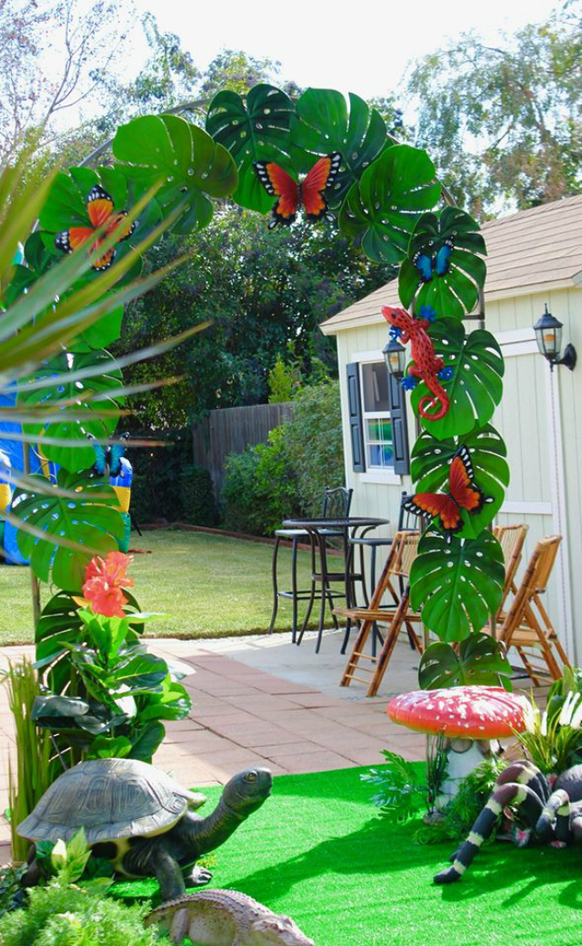 Bug and Reptile Themed Birthday Party Ideas