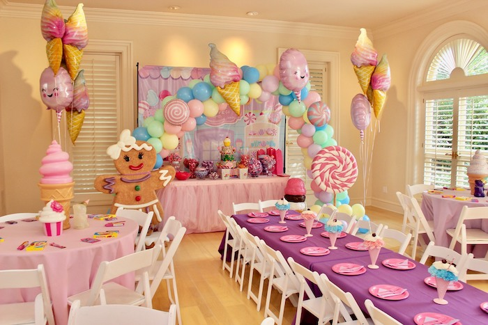 Whimsical Candyland Birthday Party