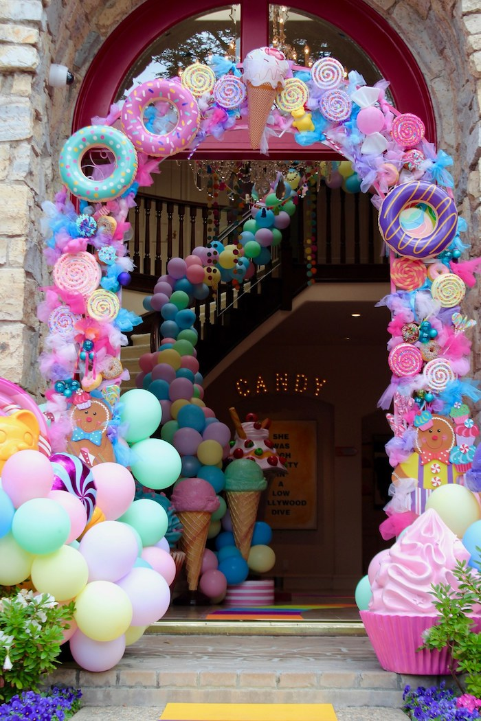 Whimsical Candyland Birthday Party Decorations