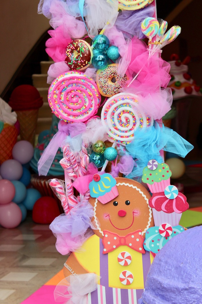 Whimsical Candyland Birthday Party Decor