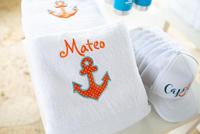 Captain Towels and Hats