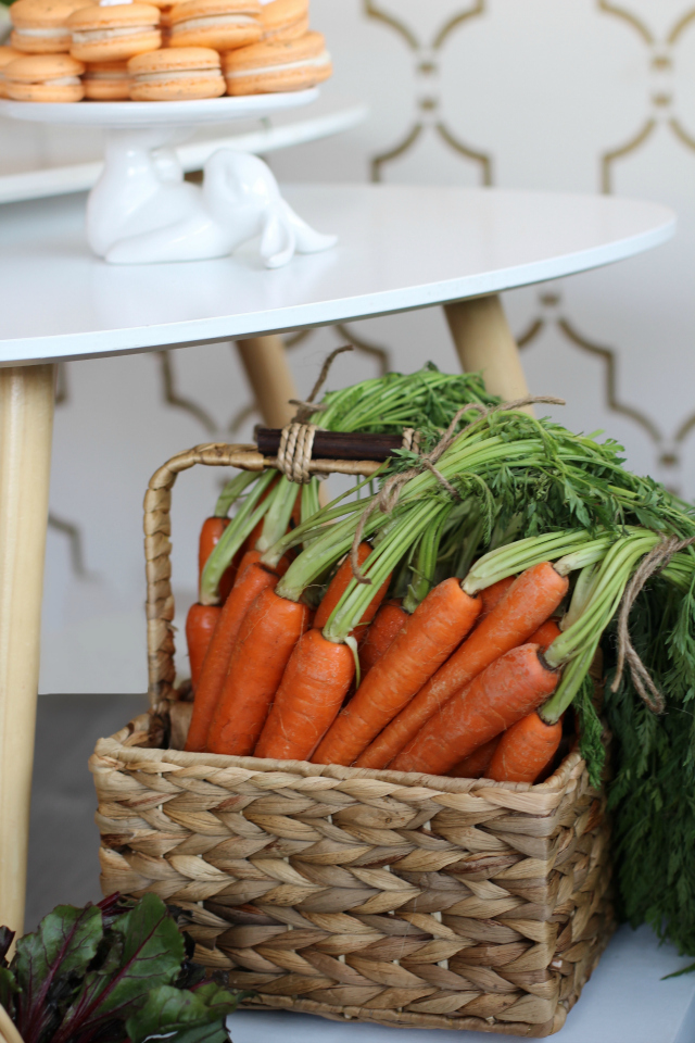 Carrot Patch Easter Party Decor