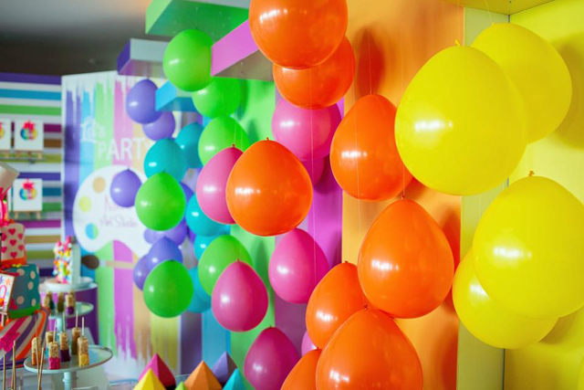 Colorful Balloon Decorations