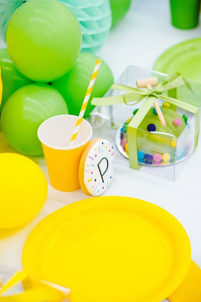 Confetti Sprinkles Party Place Setting