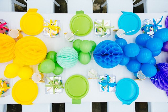 Confetti Sprinkles Party Tablescape