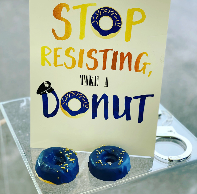 Donut Party Sign