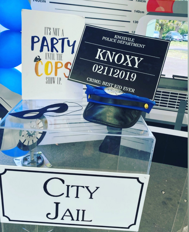 Cops and Robbers Party Signs