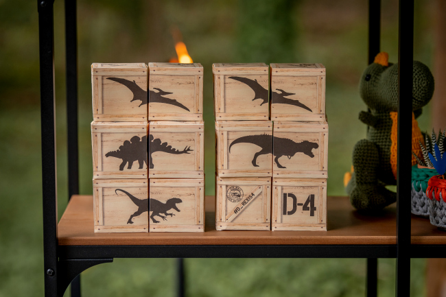 Roaring Dinosaur Birthday Party Boxes