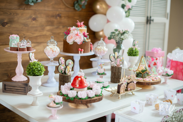 Enchanted Forest Party Desserts