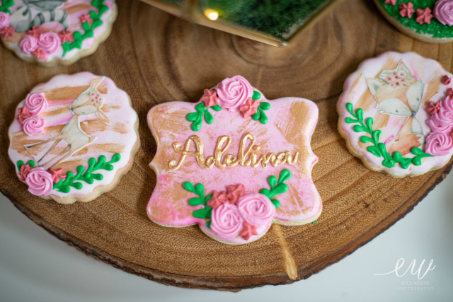 Enchanted Forest Themed Sugar Cookies
