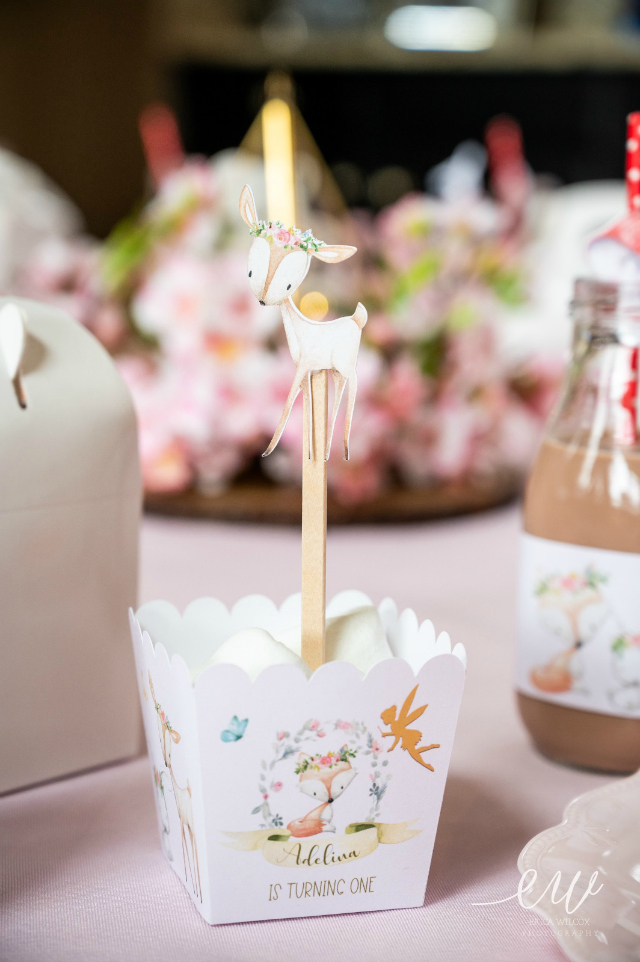 Enchanted Forest Birthday Party Treat Box