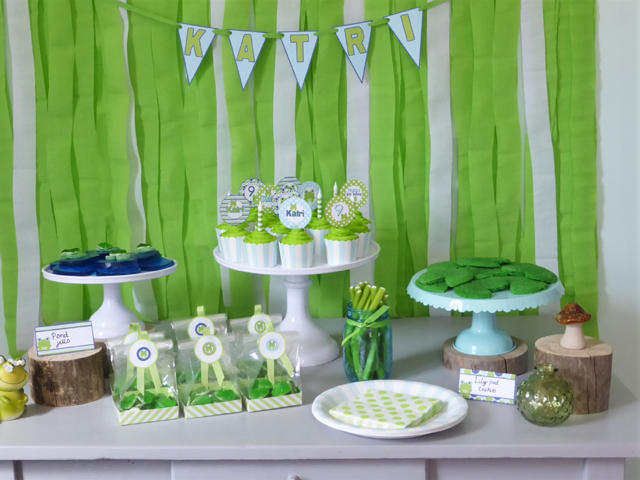 Frog Themed Birthday Party Ideas