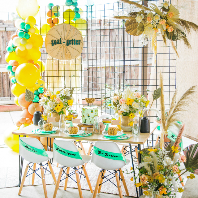 Girl Scout Inspired Party
