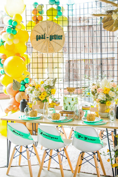 Girl Scout Themed Party